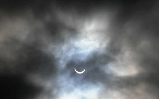 Photograph of Solar Eclipse